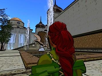Red hair in Olni
