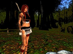 Red hair in Vella's lands