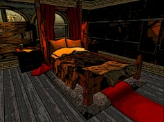 Luxury bed for the richest clients
