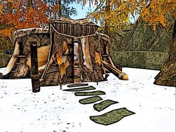 A large Chieftess tent