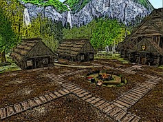 A small northern village