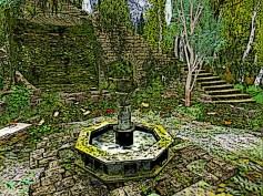 A very pretty fountain