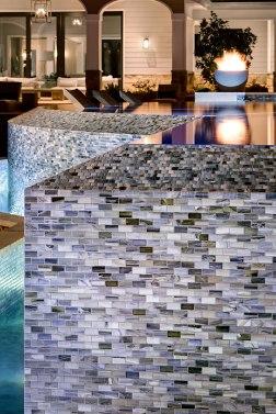 Agate 1 x 4 in Umbria Pearl • Santa Rosa Pool and Pool House