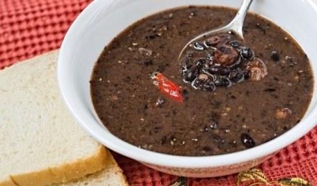 Black bean soup 1