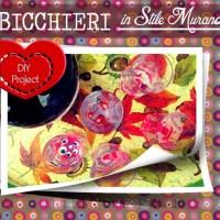 DIY Marbled Glasses: Bicchieri effetto Murano con Smalto