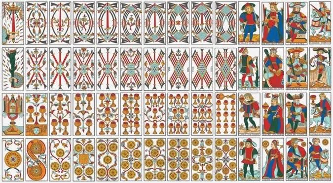 6 Fiori Tarocchi Gabriella.Gli Arcani Minori Tarocchi
