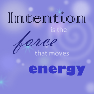 Intention quote