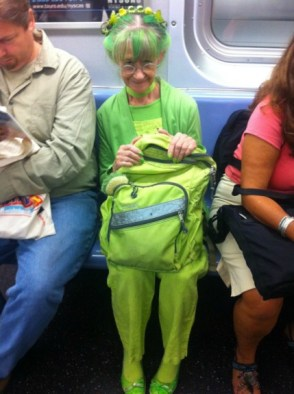 The Lady In Green