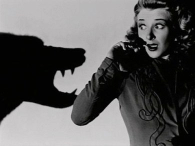 The OG Scream Queen, Evelyn Ankers for Universal Studios' The Wolf Man