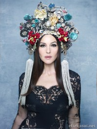 Yes again, Monica Bellucci, Luna Luna's resident goddess