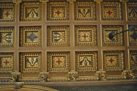 Breakers ornate ceiling