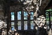 Gillette castle picnic shelter view