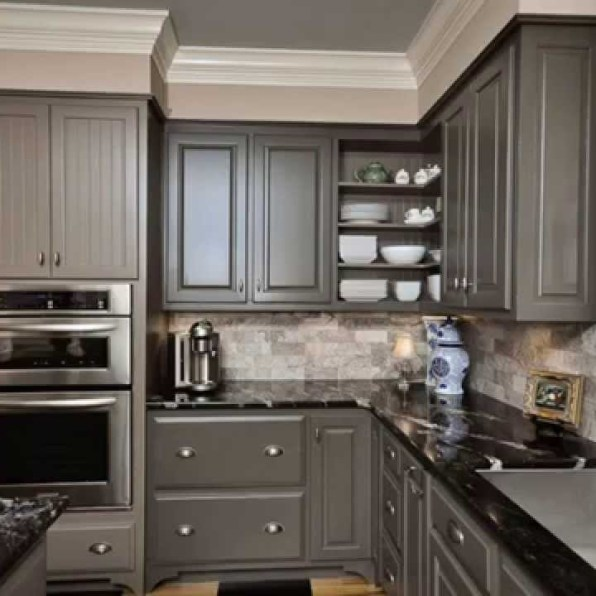 Interior Kitchen Cabinets Spokane kitchen cabinet painting in spokane refinishing light gray cabinets paint