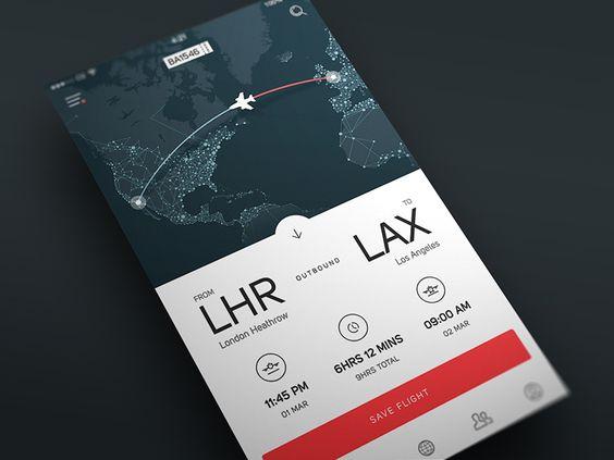 travel app developers