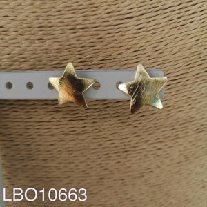 Aros bañados en oro de 16mm LBO10663
