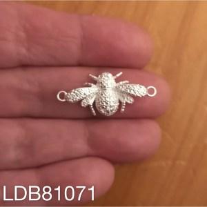 Conector bañado en plata de 0mm Abeja 1 dije LDB81071