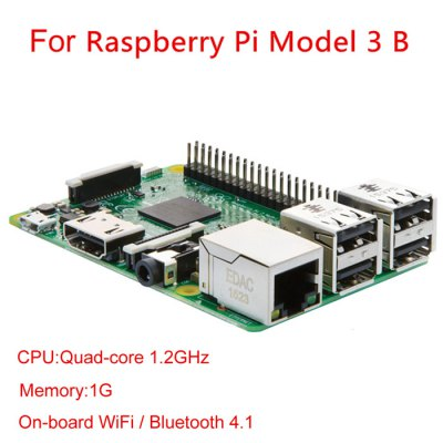 Raspberry 3 en promo sur gearbest