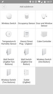 Xiaomi Zigbee