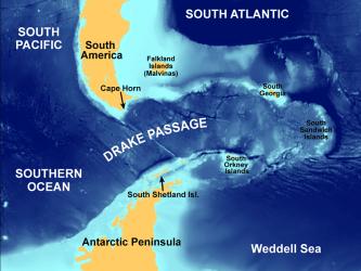 Drake Passage formation of Antarctic ice sheet