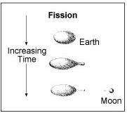 Lunar Origin Fission Model