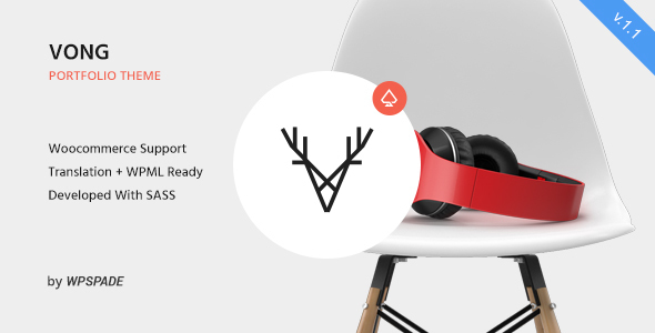 vong-most-breathtaking-portfolio-wordpress-themes