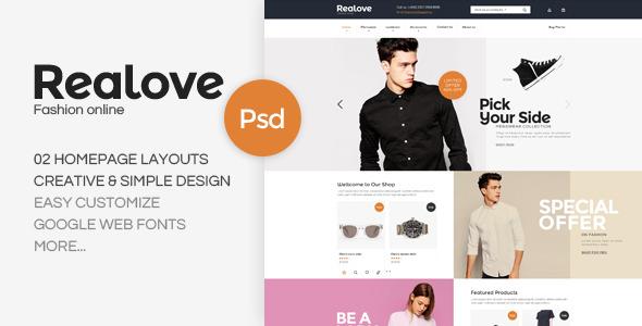 REALOVE-fashion-shop-psd-templates