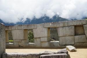 Machu Picchu trapezoid window