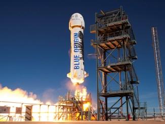 Blue Origin Spacecraft Launch