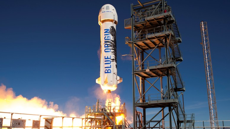 Blue Origin Spacecraft Launch