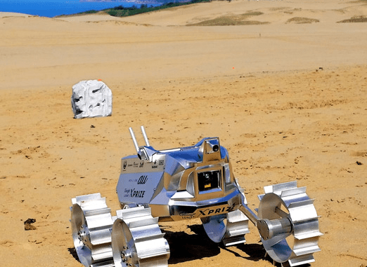 Hakuto Moon Rover (Photo)