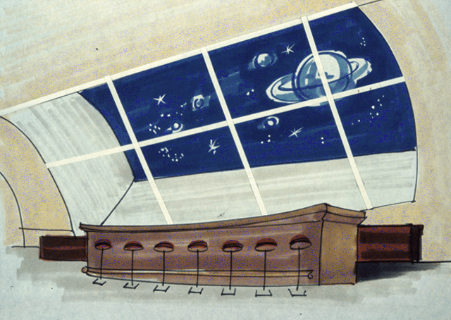 Galaxy Lounge at the Lunar Hilton (Illustration)