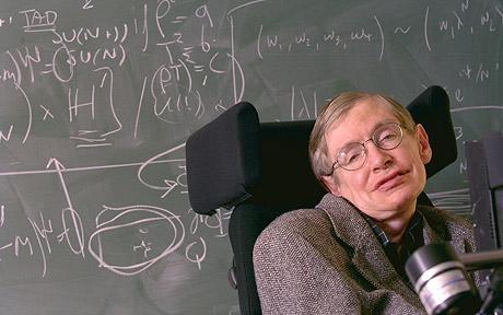 Prof. Stephen Hawking (2017 Photo)