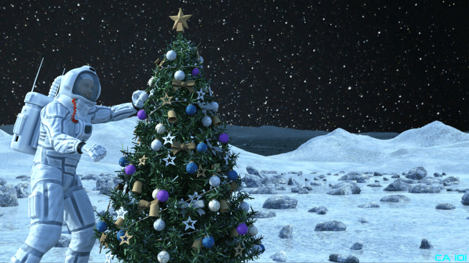 Christmas On The Moon