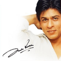 Shah Rukh Khan Autographed Photo
