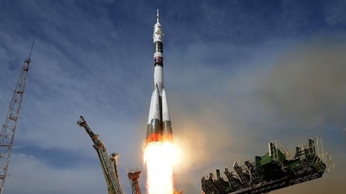 Soyuz Rocket Launch (Photo)