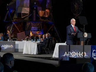 Mike Pence NASA Conference (Photo)