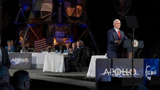 Mike Pence NASA Conference (Photo)