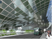 Inerior of Green Roof. (Source: HOK, 2005)