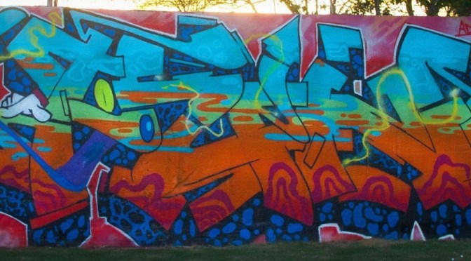 Graffiti : ADM Cru