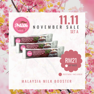 (Trial Pack)Set A November Promo The Milk Story