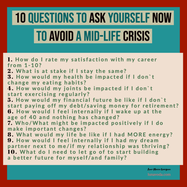 10 questions to ask yourself to avoid a mid-life crisis