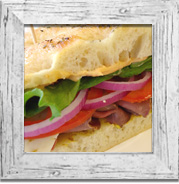 Deli Lunches - Box lunches, lunch buffets, salads, soups.
