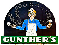 Lunch Box Express partner Gunther's Ice Cream