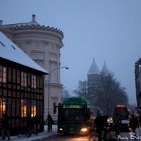 Snow in Lund
