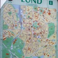 Lund City map