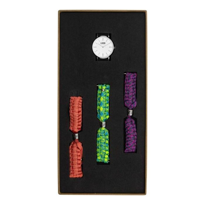 Set No 5 - 34mm Braided Watch Set