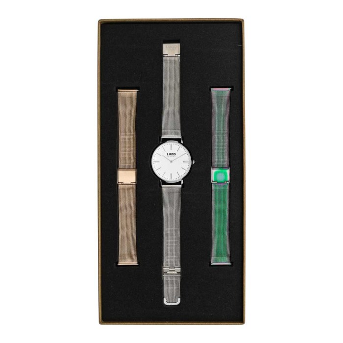 Set No 10 - 39mm Metal Watch Set
