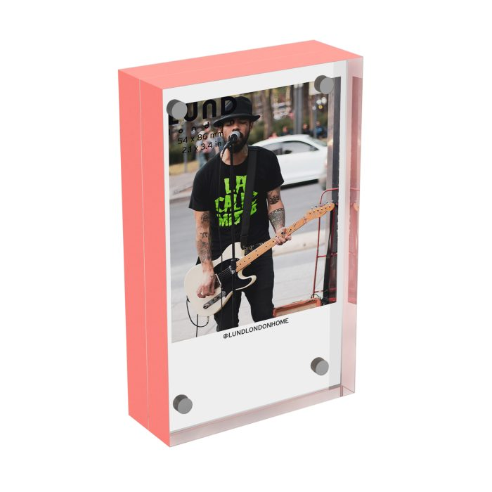 Instax coral frame
