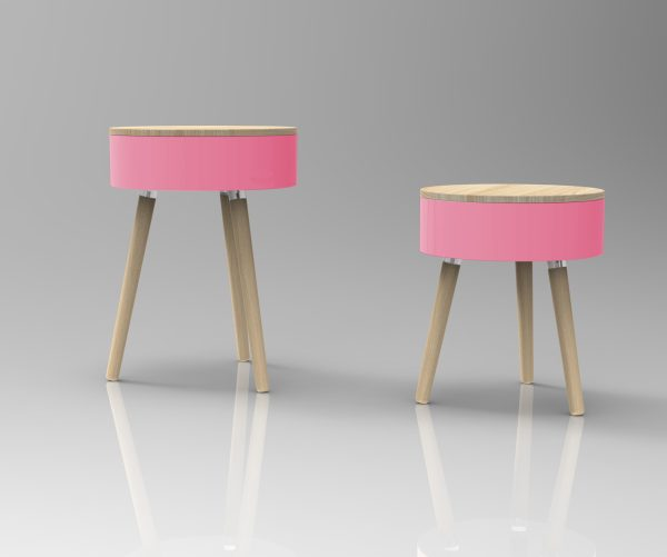 Skittle Table - Pink - 7245