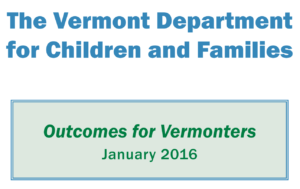 DCF Outcomes for Vermonters Annual Report